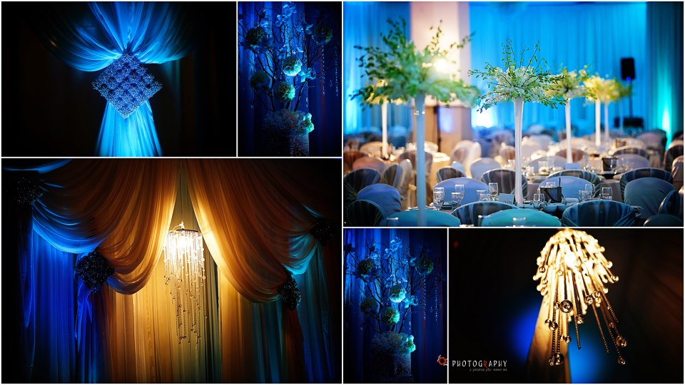 Cupertino Dynasty - Tiffany Blue themed wedding